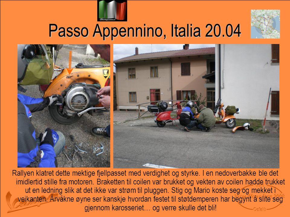Passo Appennino, Italia 20.04