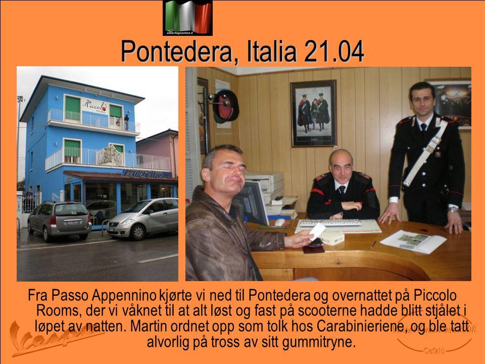 Pontedera, Italia 21.04