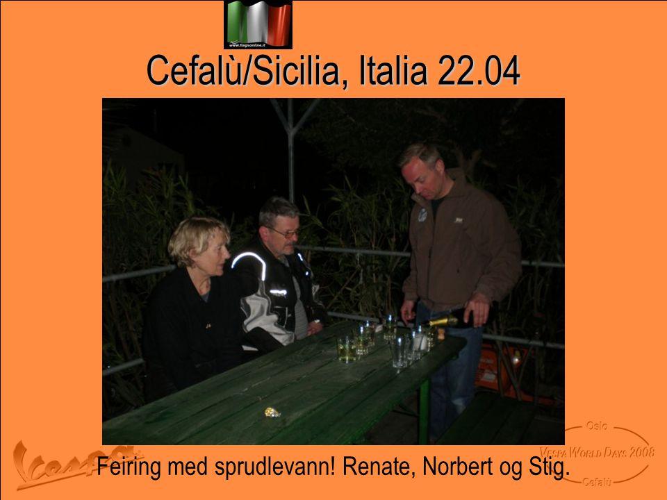 Cefalù/Sicilia, Italia 22.04
