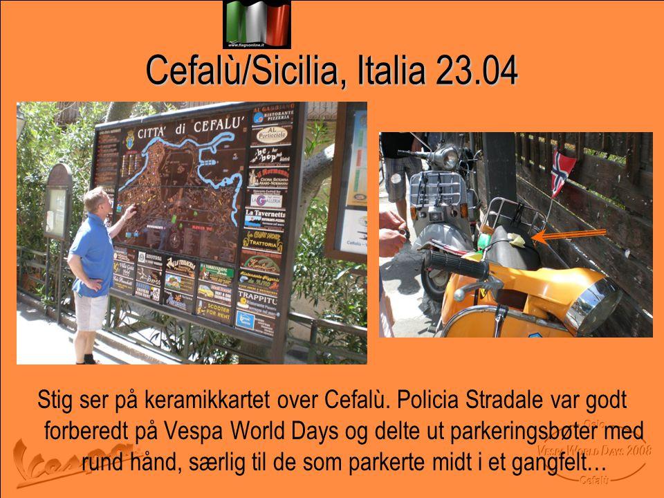 Cefalù/Sicilia, Italia 23.04