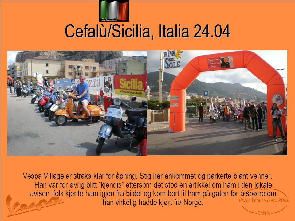 Cefalù/Sicilia, Italia 24.04