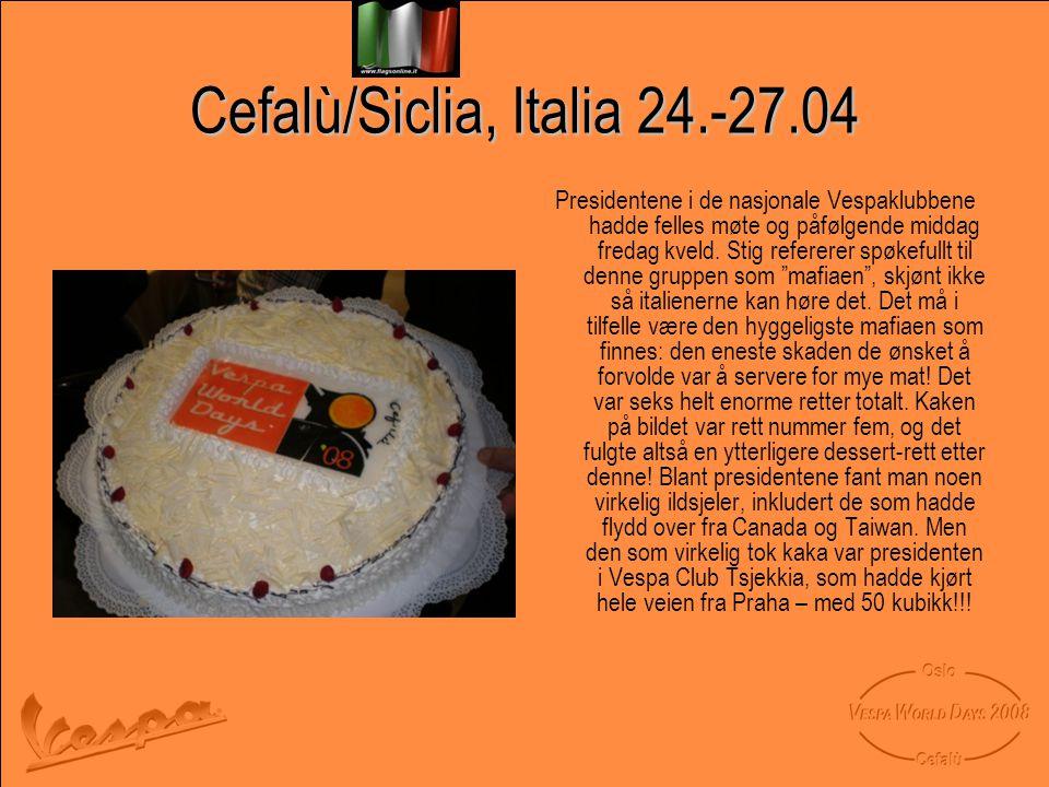 Cefalù/Siclia, Italia 24.-27.04