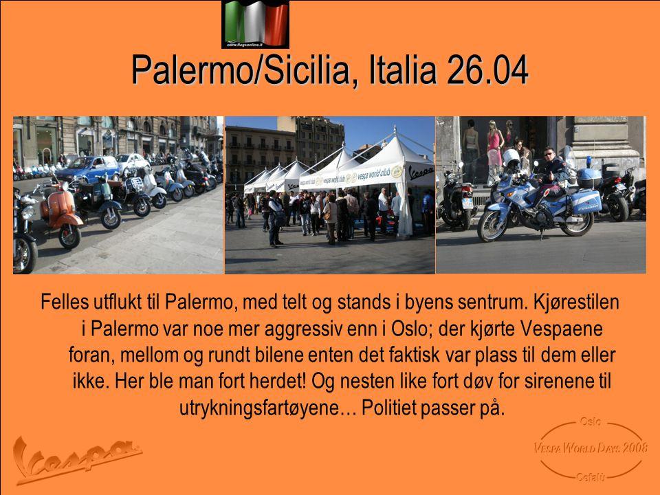 Palermo/Sicilia, Italia 26.04