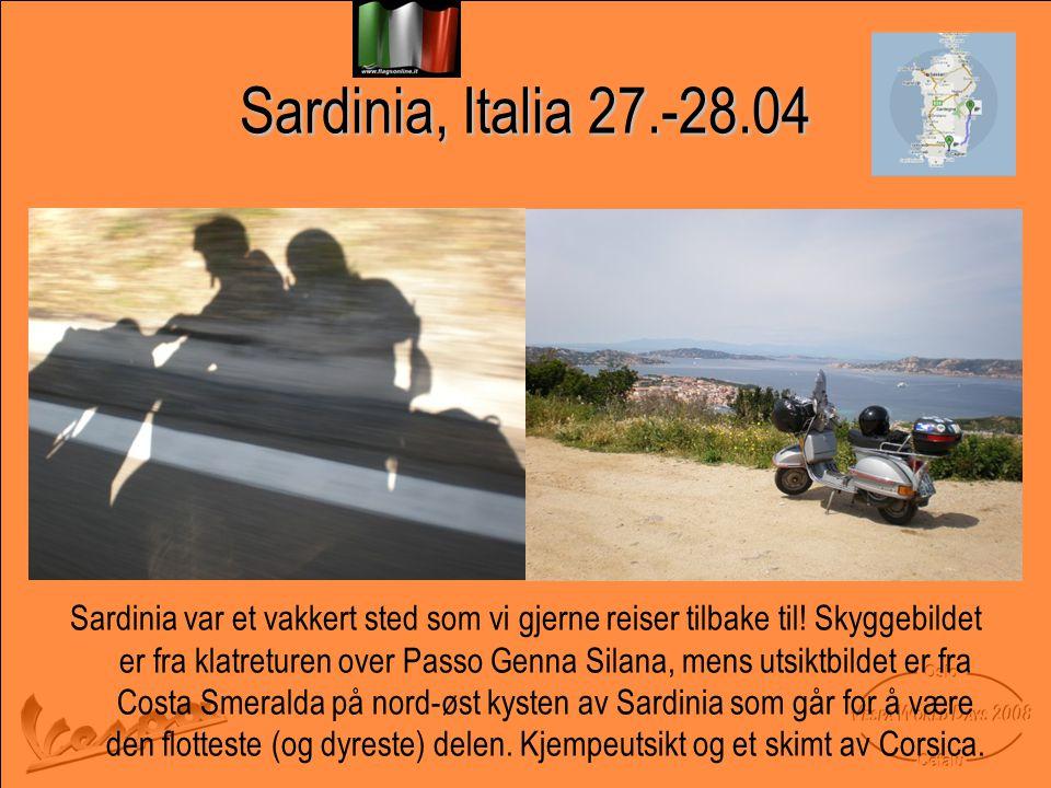 Sardinia, Italia 27.-28.04