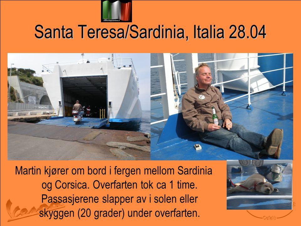 Santa Teresa/Sardinia, Italia 28.04