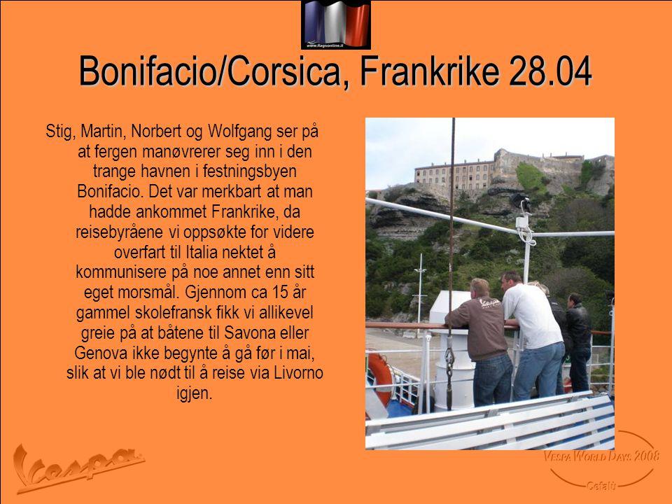 Bonifacio/Corsica, Frankrike 28.04
