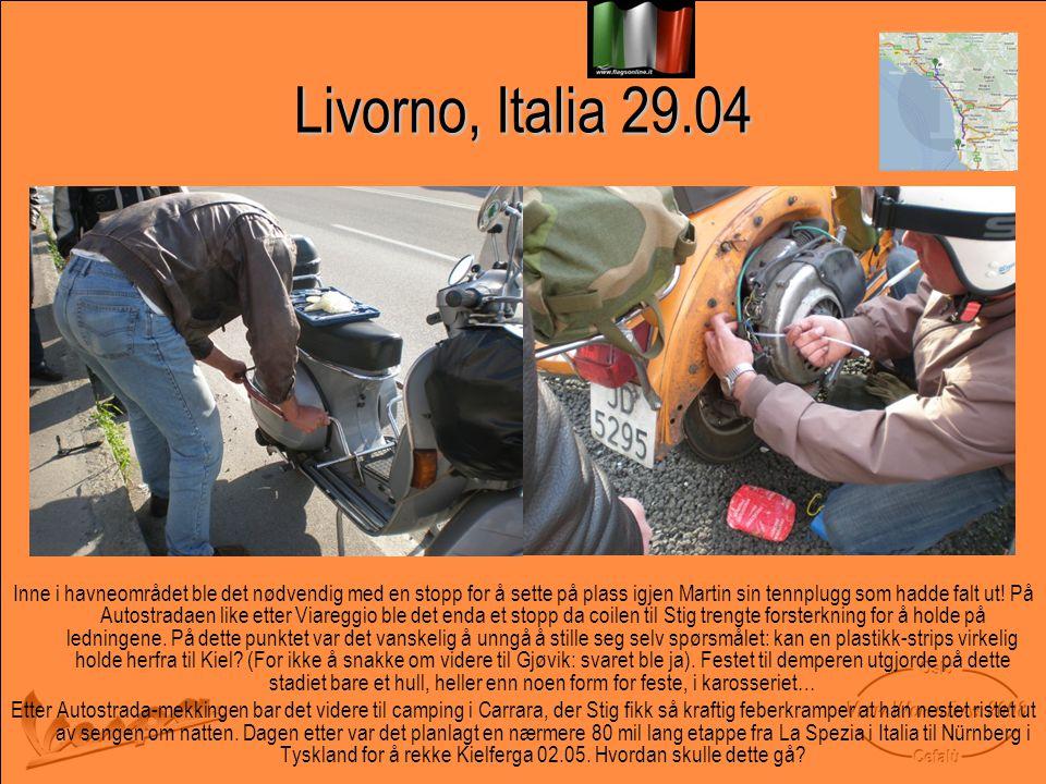 Livorno, Italia 29.04