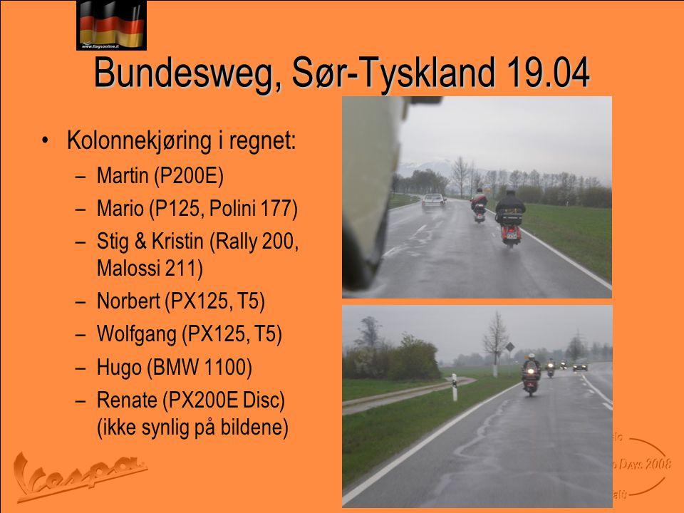 Bundesweg, Sør-Tyskland 19.04
