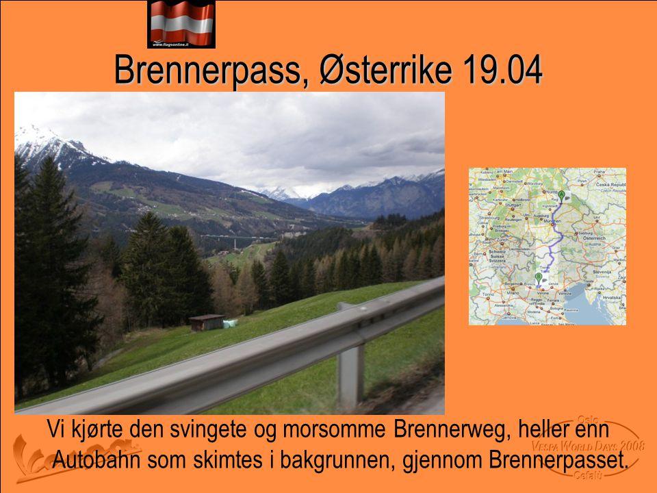 Brennerpass, Østerrike 19.04