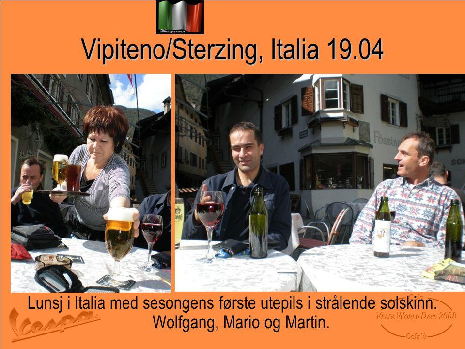 Vipiteno/Sterzing, Italia 19.04