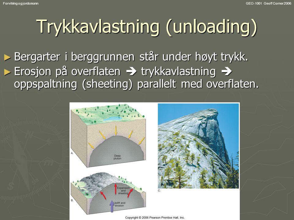 Trykkavlastning (unloading)