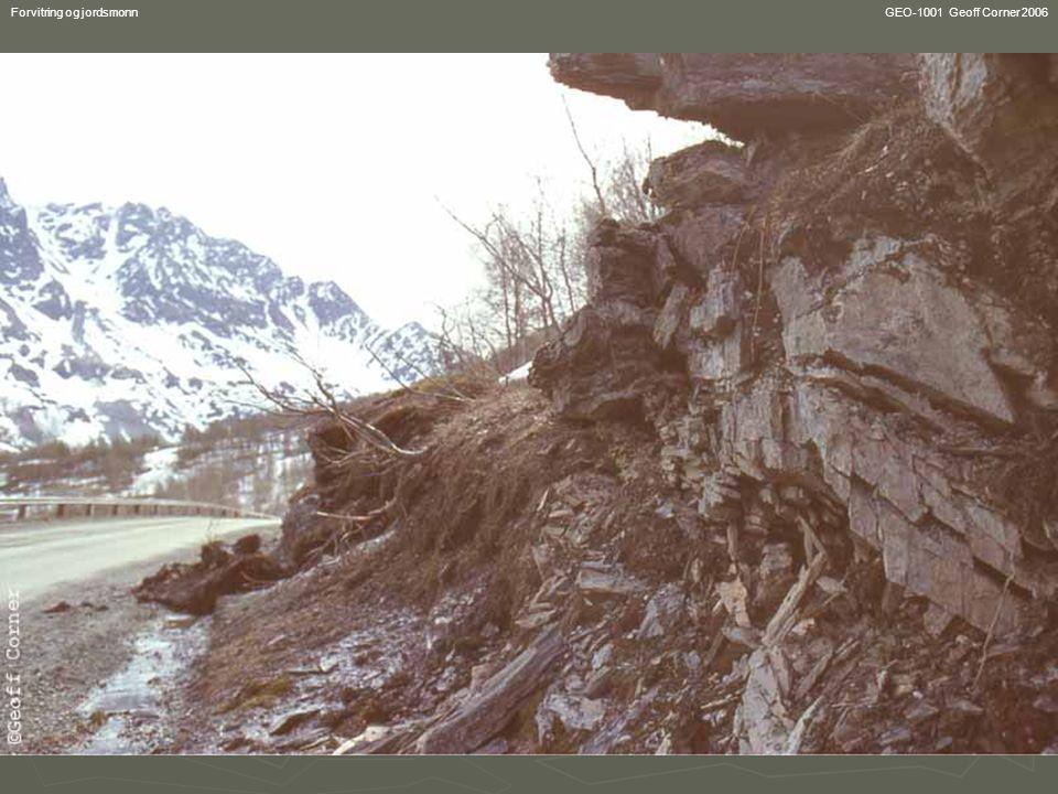 GEO-1001 Geoff Corner 2006 Forvitring og jordsmonn