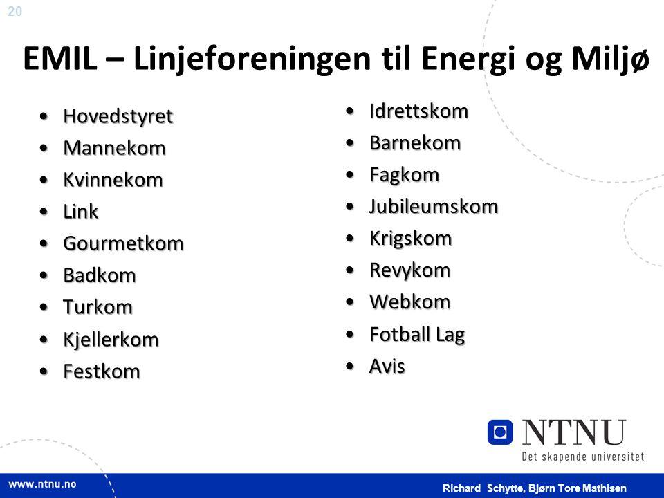 EMIL – Linjeforeningen til Energi og Miljø