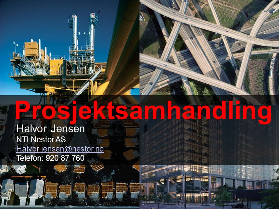 Prosjektsamhandling Halvor Jensen NTI Nestor AS