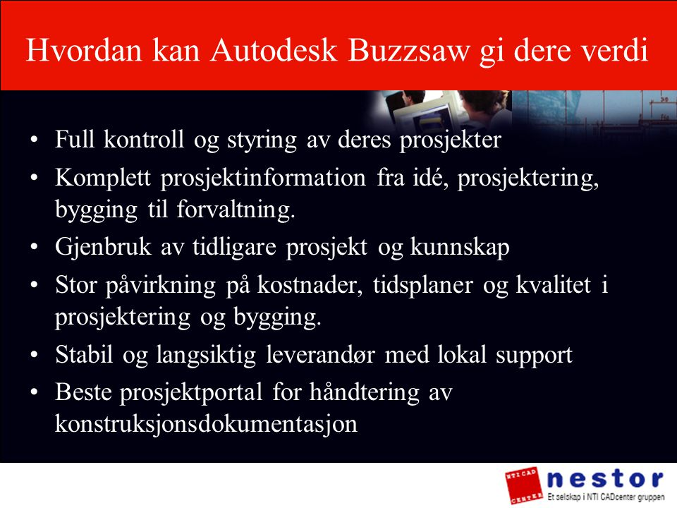Hvordan kan Autodesk Buzzsaw gi dere verdi