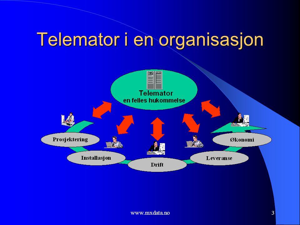 Telemator i en organisasjon