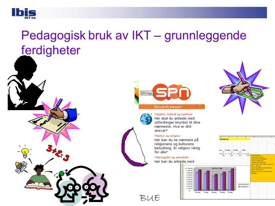 Pedagogisk bruk av IKT – grunnleggende ferdigheter