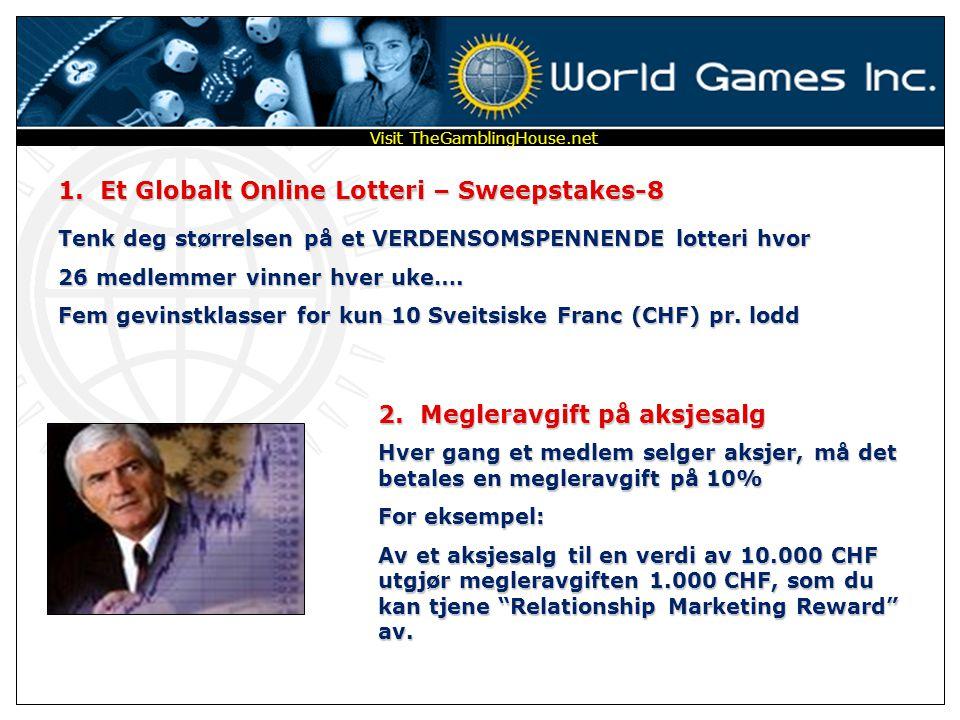 1. Et Globalt Online Lotteri – Sweepstakes-8