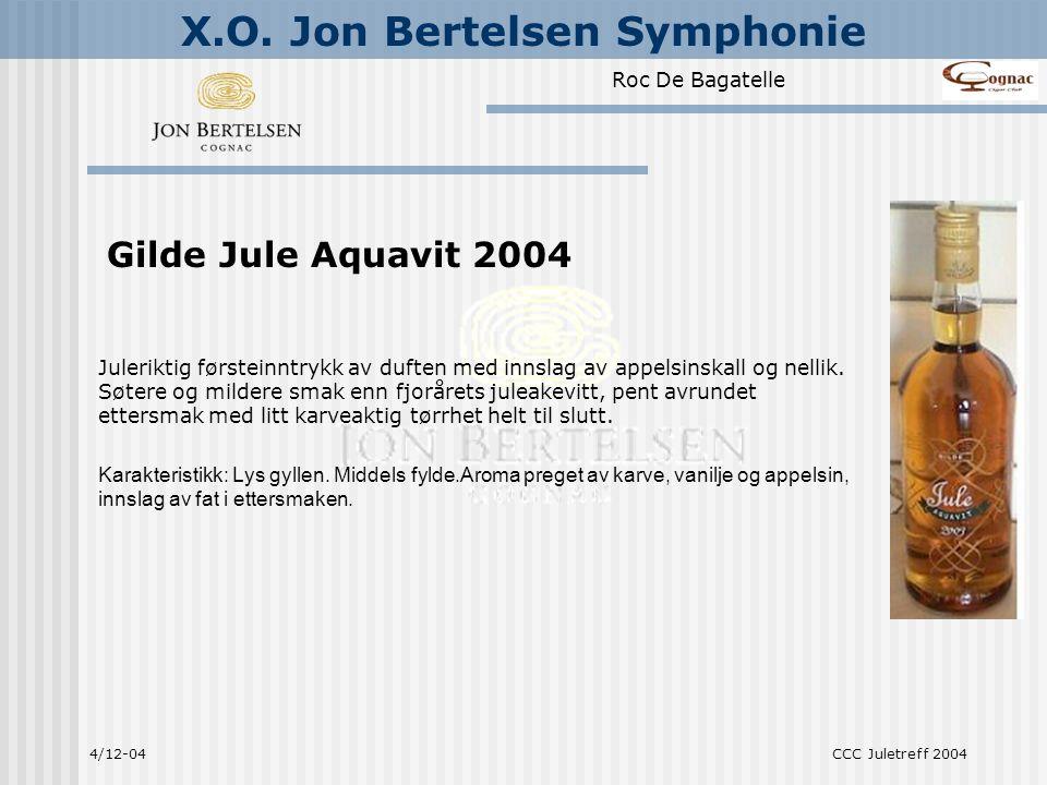 Gilde Jule Aquavit 2004