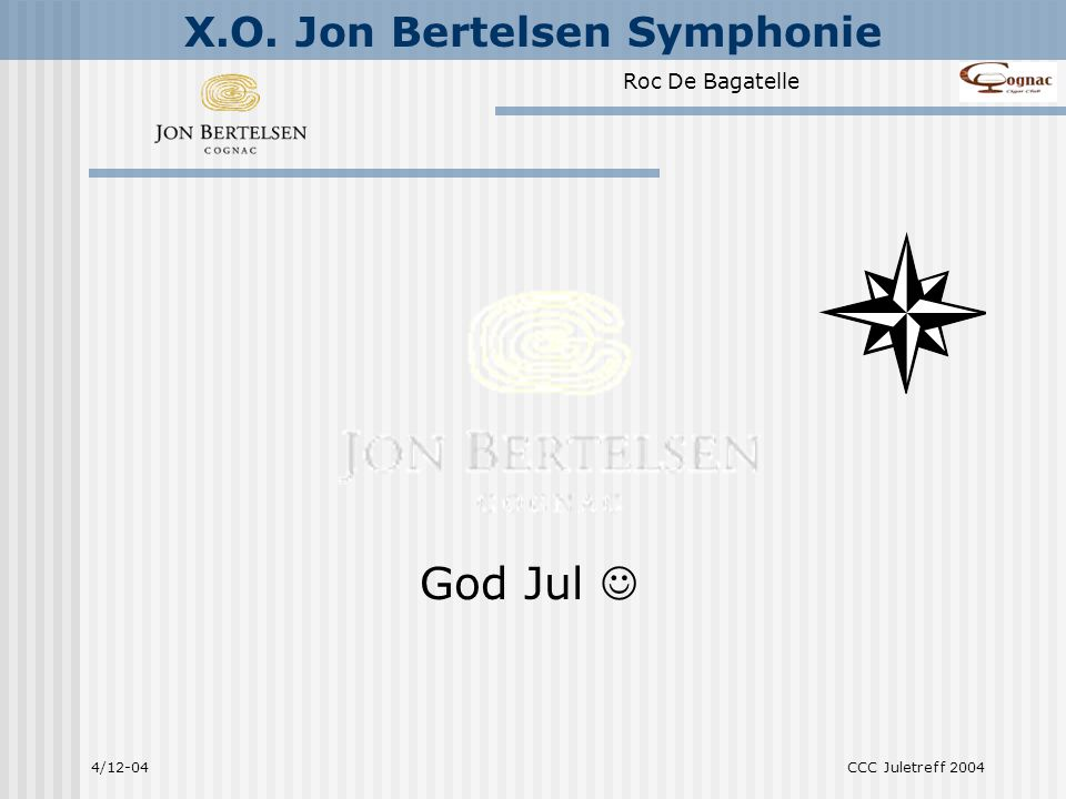God Jul  4/12-04 CCC Juletreff 2004