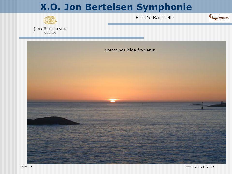 Prelude, Symphonie (som vi skal smake i dag) og Orchestra.