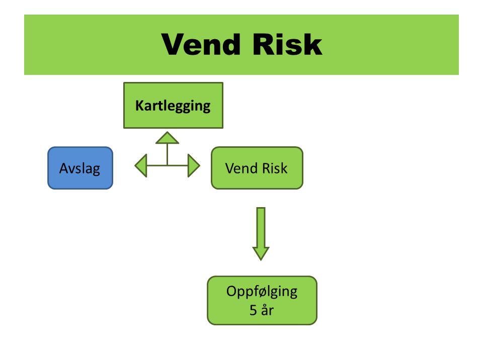 Vend Risk Kartlegging Avslag Vend Risk Oppfølging 5 år