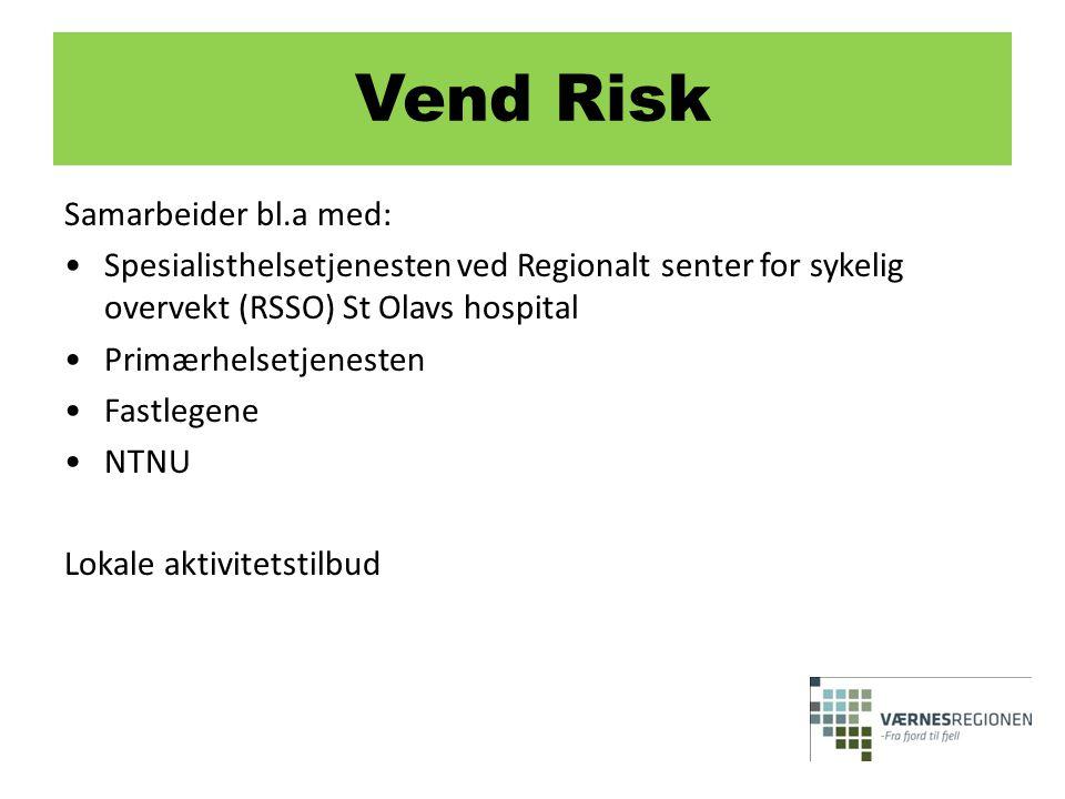 Vend Risk Samarbeider bl.a med: