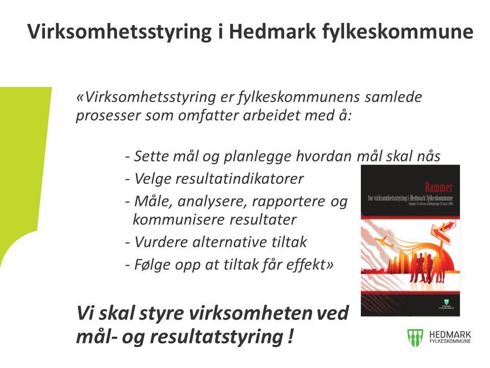 Virksomhetsstyring i Hedmark fylkeskommune