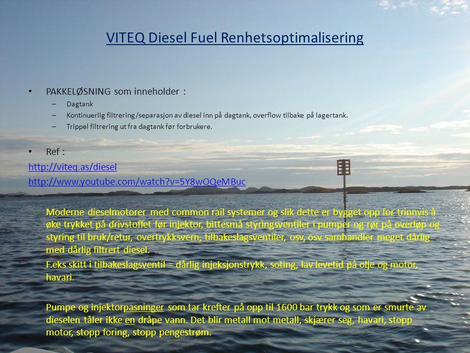 VITEQ Diesel Fuel Renhetsoptimalisering