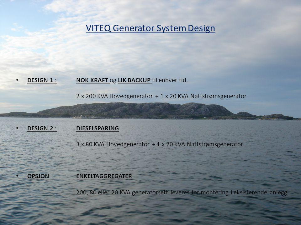 VITEQ Generator System Design