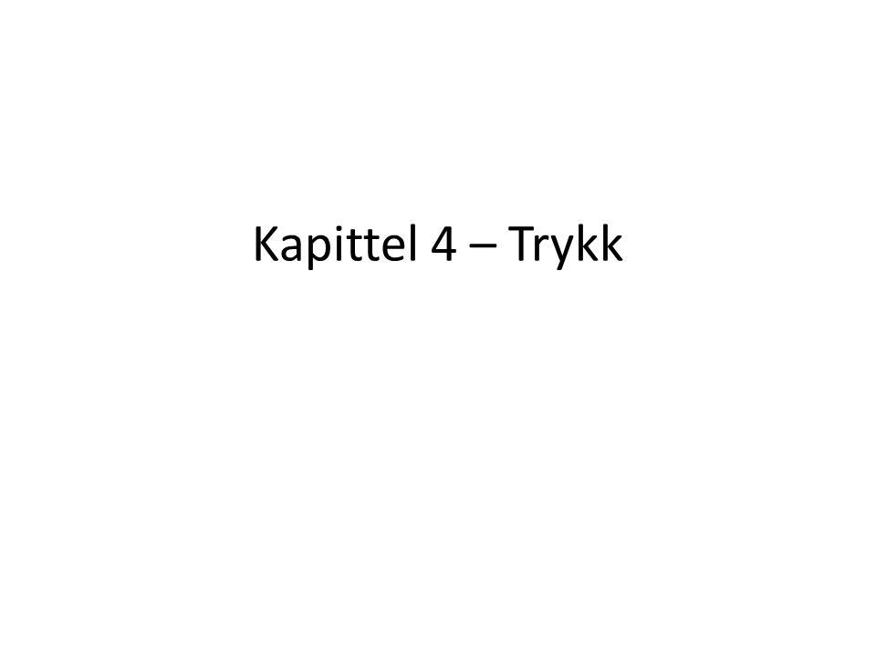 Kapittel 4 – Trykk