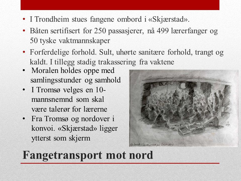 Fangetransport mot nord