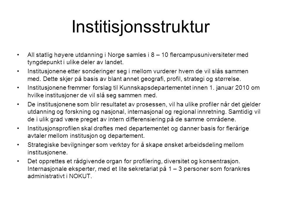 Institisjonsstruktur