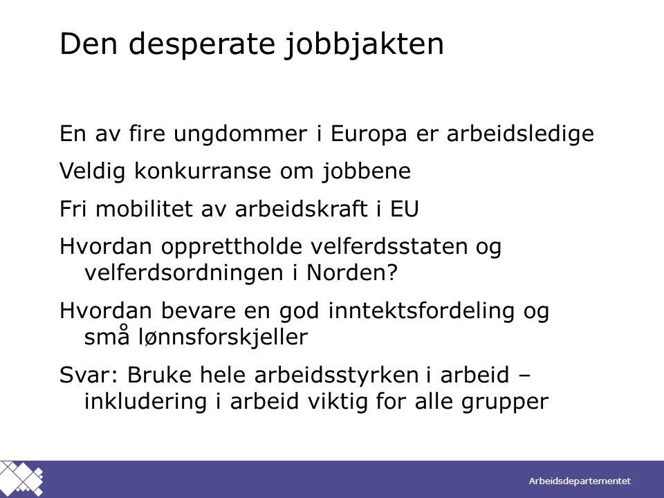 Den desperate jobbjakten
