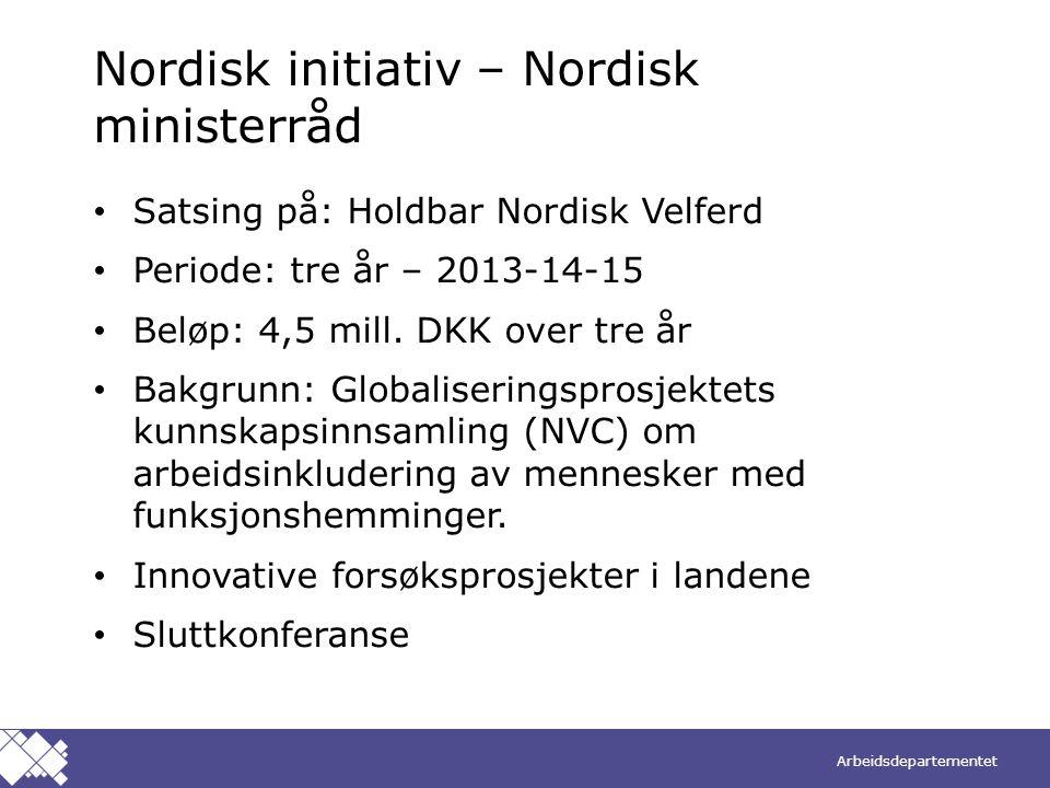 Nordisk initiativ – Nordisk ministerråd