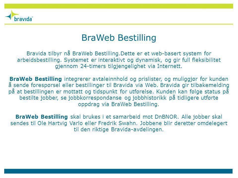 BraWeb Bestilling
