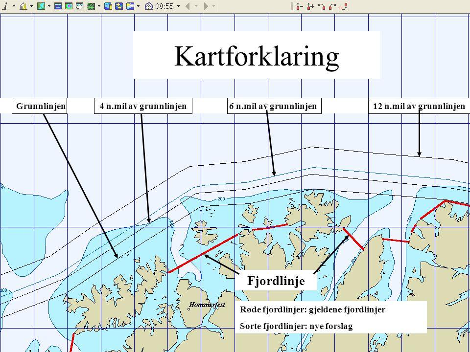 Kartforklaring Fjordlinje