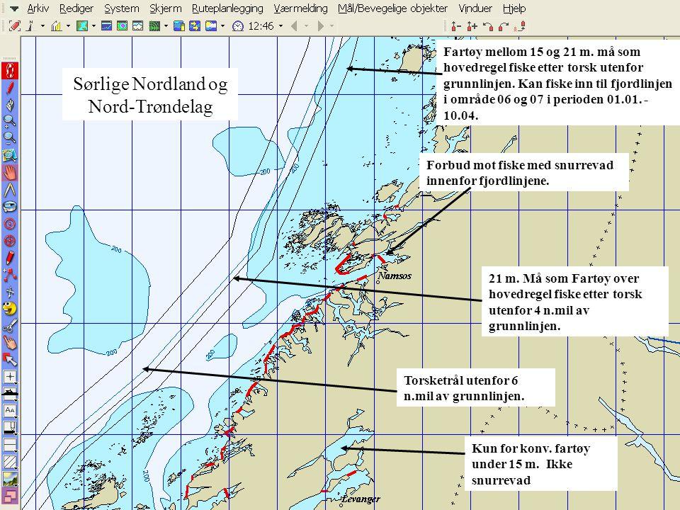Sørlige Nordland og Nord- Trøndelag
