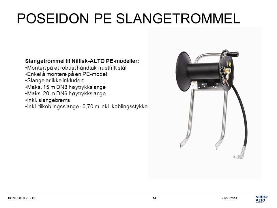 POSEIDON PE SLANGETROMMEL