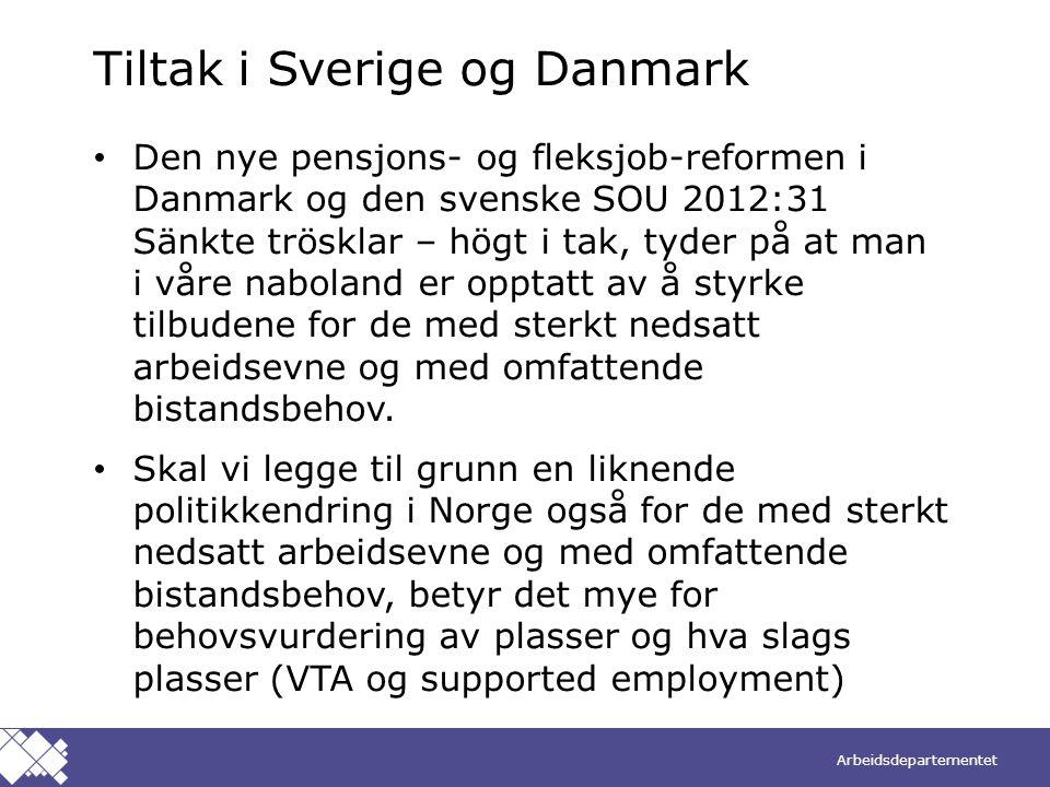 Tiltak i Sverige og Danmark