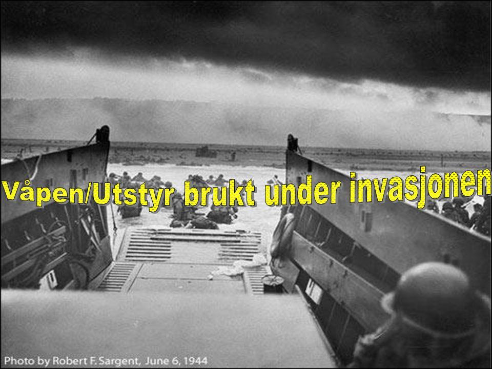Våpen/Utstyr brukt under invasjonen
