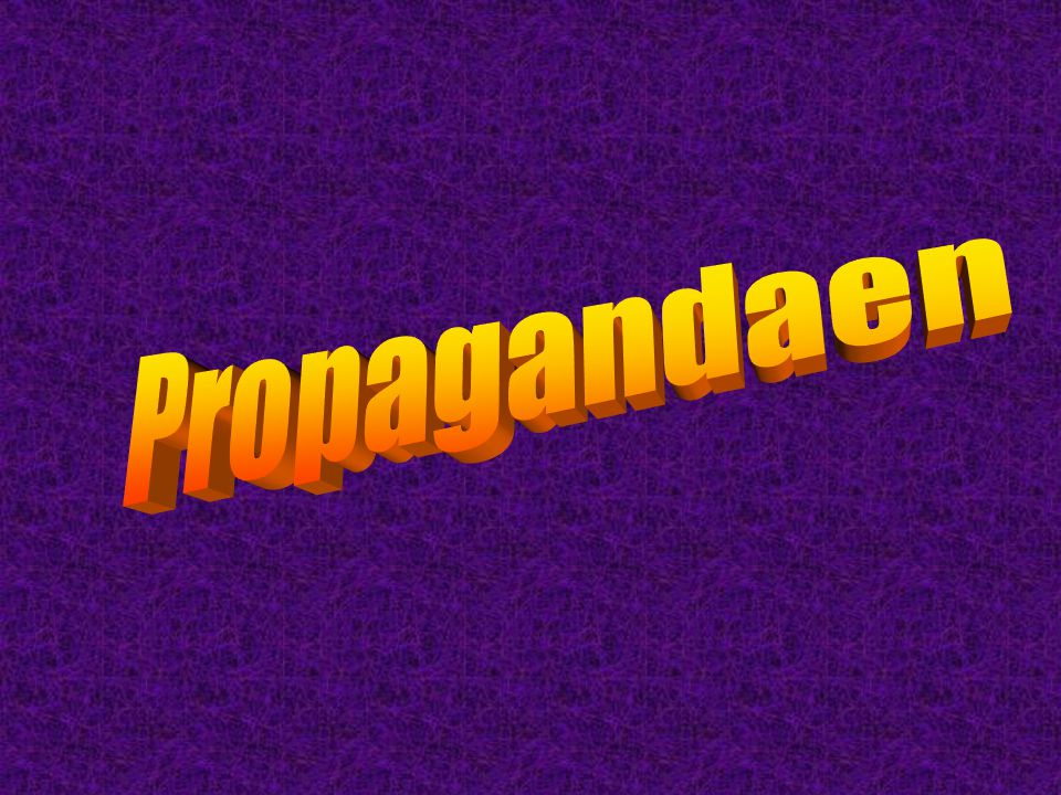 Propagandaen