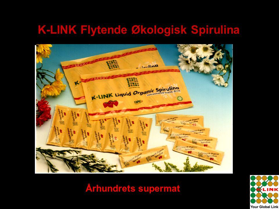 K-LINK Flytende Økologisk Spirulina