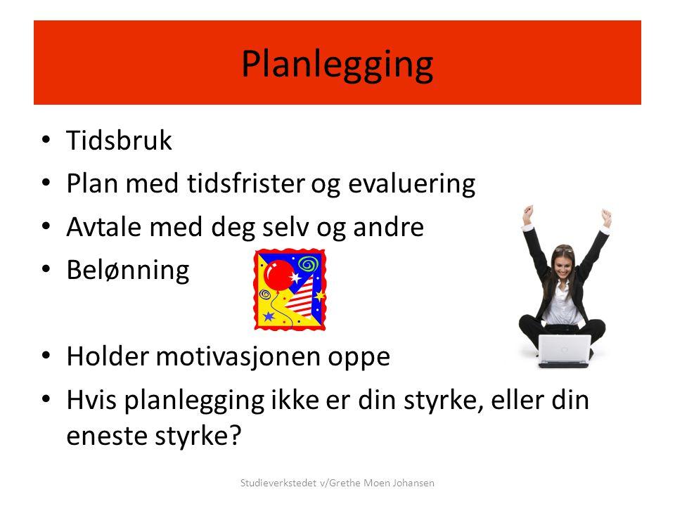 Studieverkstedet v/Grethe Moen Johansen