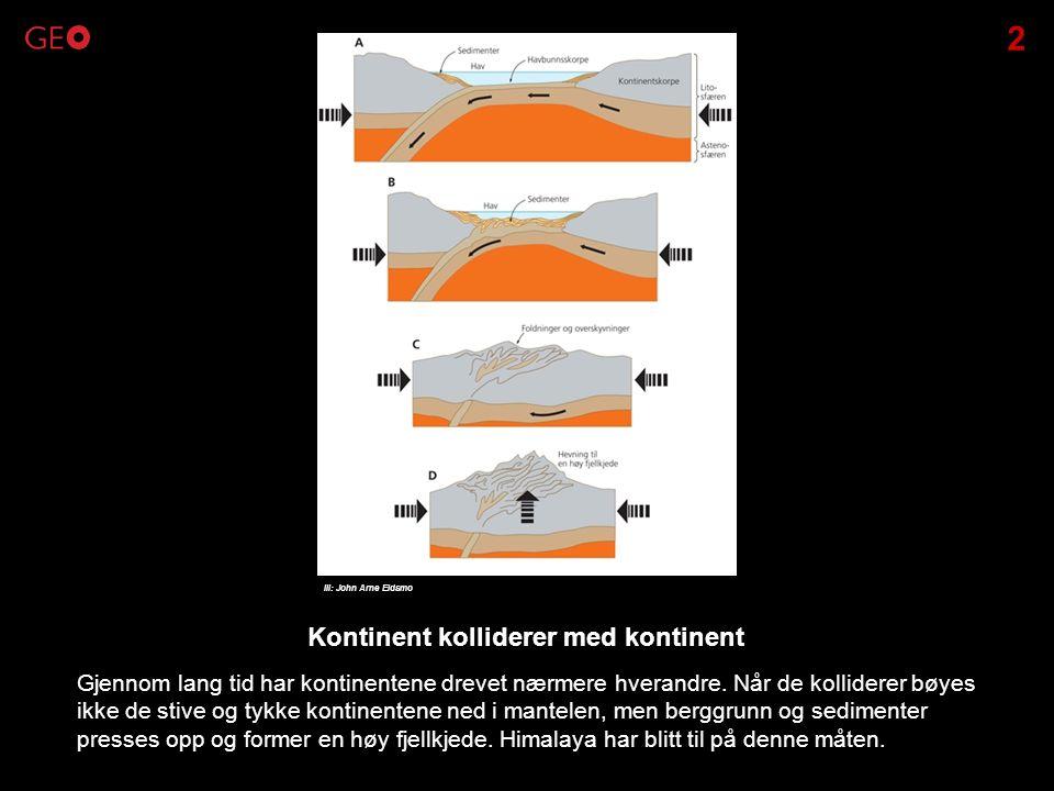 jordskjelv hvor og når