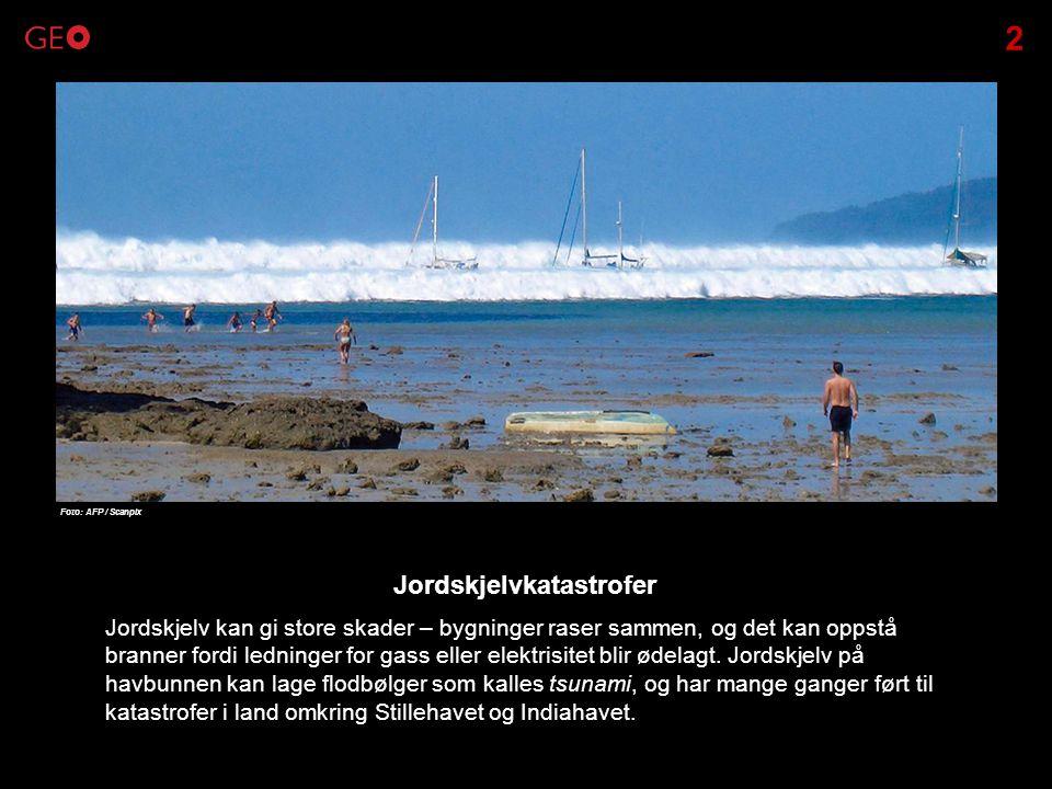 Jordskjelvkatastrofer