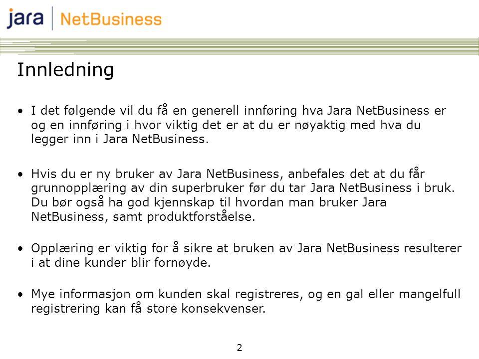 jara netbusiness
