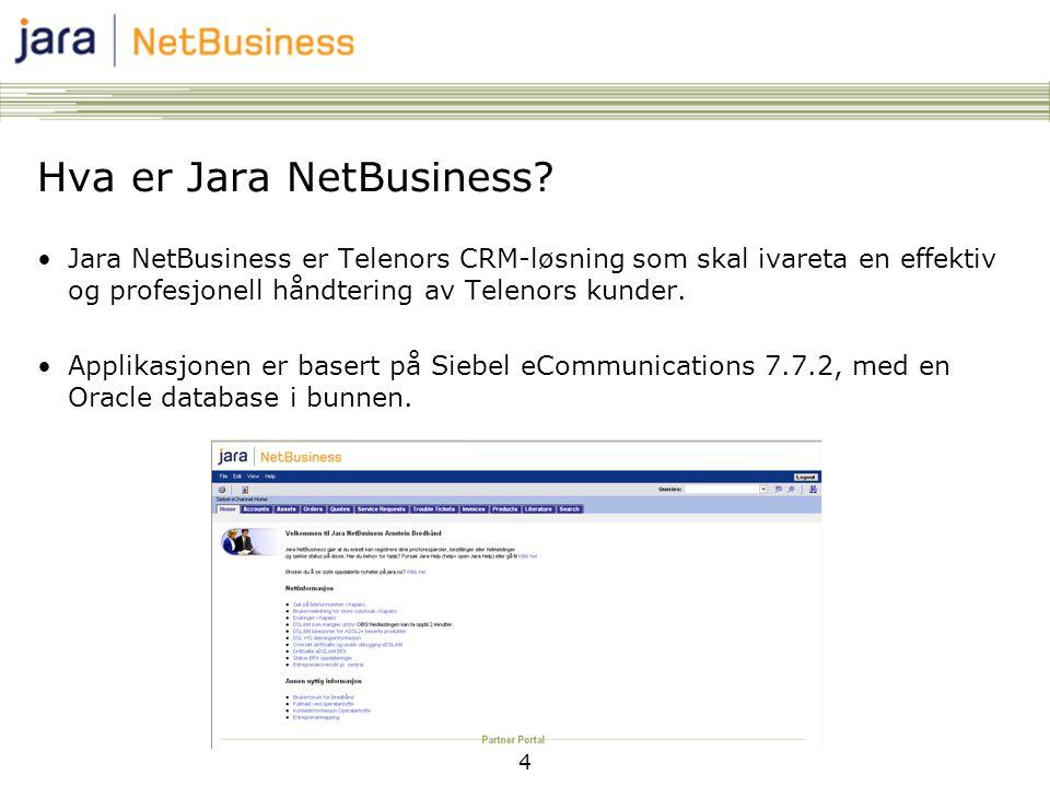 Hva er Jara NetBusiness