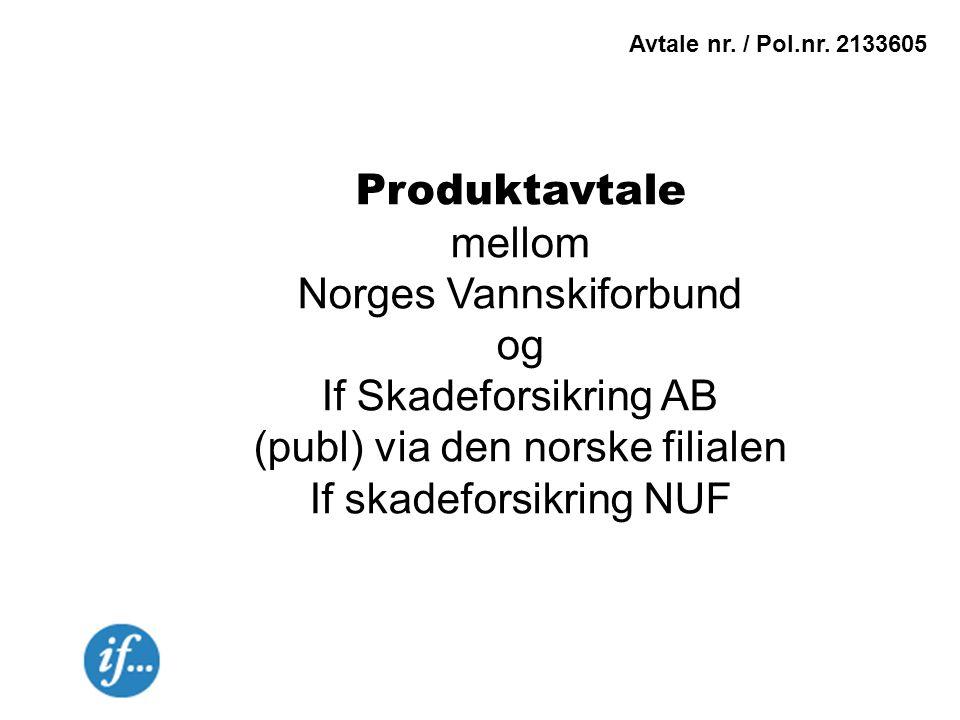 Norges Vannskiforbund og If Skadeforsikring AB