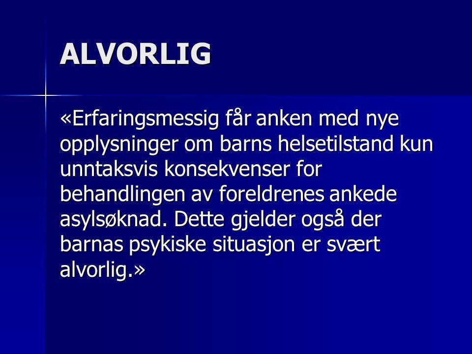 ALVORLIG